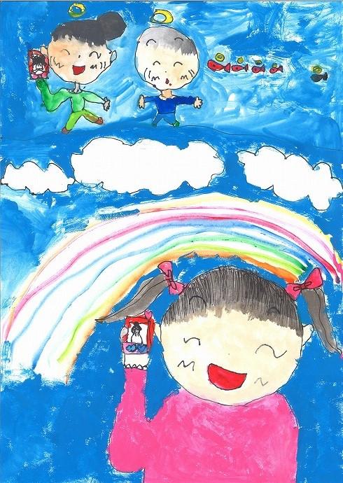 第68回NTT児童画コンクール入賞者