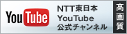 NTT����{YouTube�����`�����l���i���掿�j