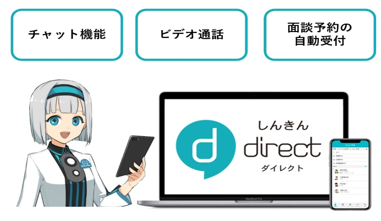 コミュニケーションアプリ「しんきんdirect」の提供について~全国の ...
